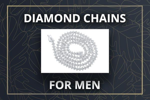 Men's Diamond Chains